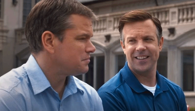 matt damon y Jason Sudeikis