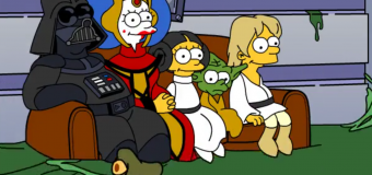 Star Wars y su 'simpsonización'