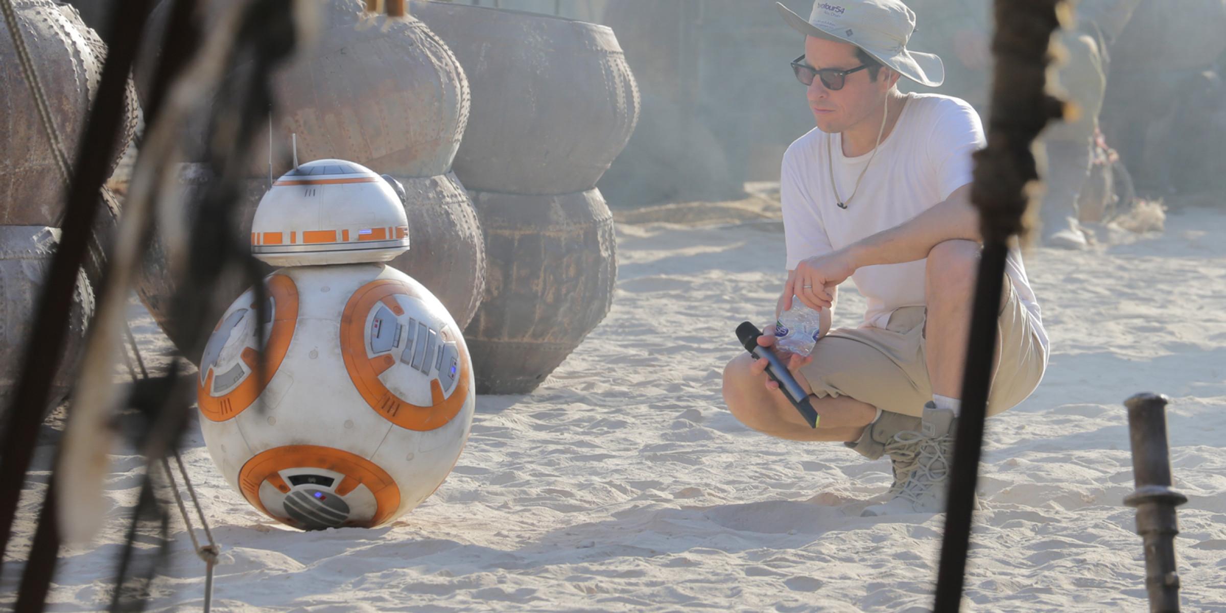 El droide BB-8 en el set de 'El despertar de la Fuerza'