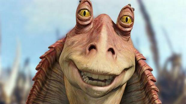 Jar Jar Binks, primer personaje de la saga 'Star Wars' creado completamente a partir de CGI