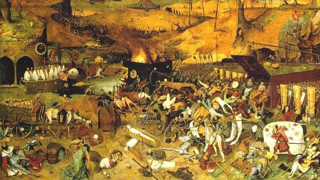 'El triunfo de la muerte' de Pieter Bruegel El Viejo (1562-1563, Museo del Prado)