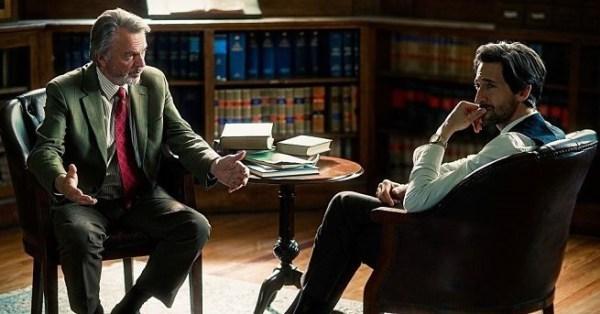 Adrien Brody y Sam Neill, protagonistas de la película.