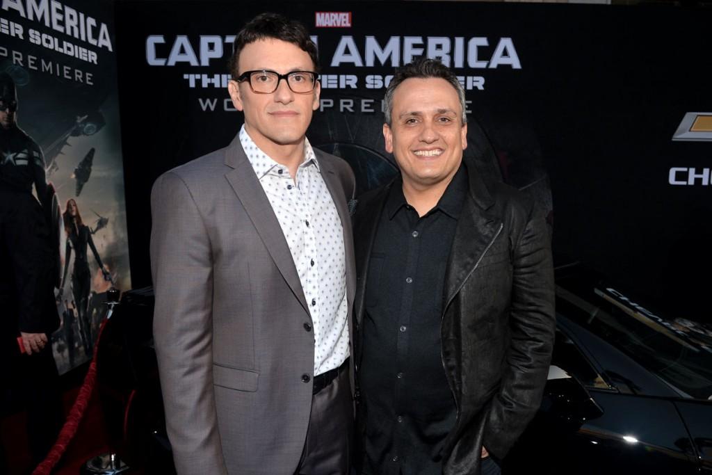 Los hermanos Russo, en la premiere de 'Capitán América: El Soldado de Invierno'.
