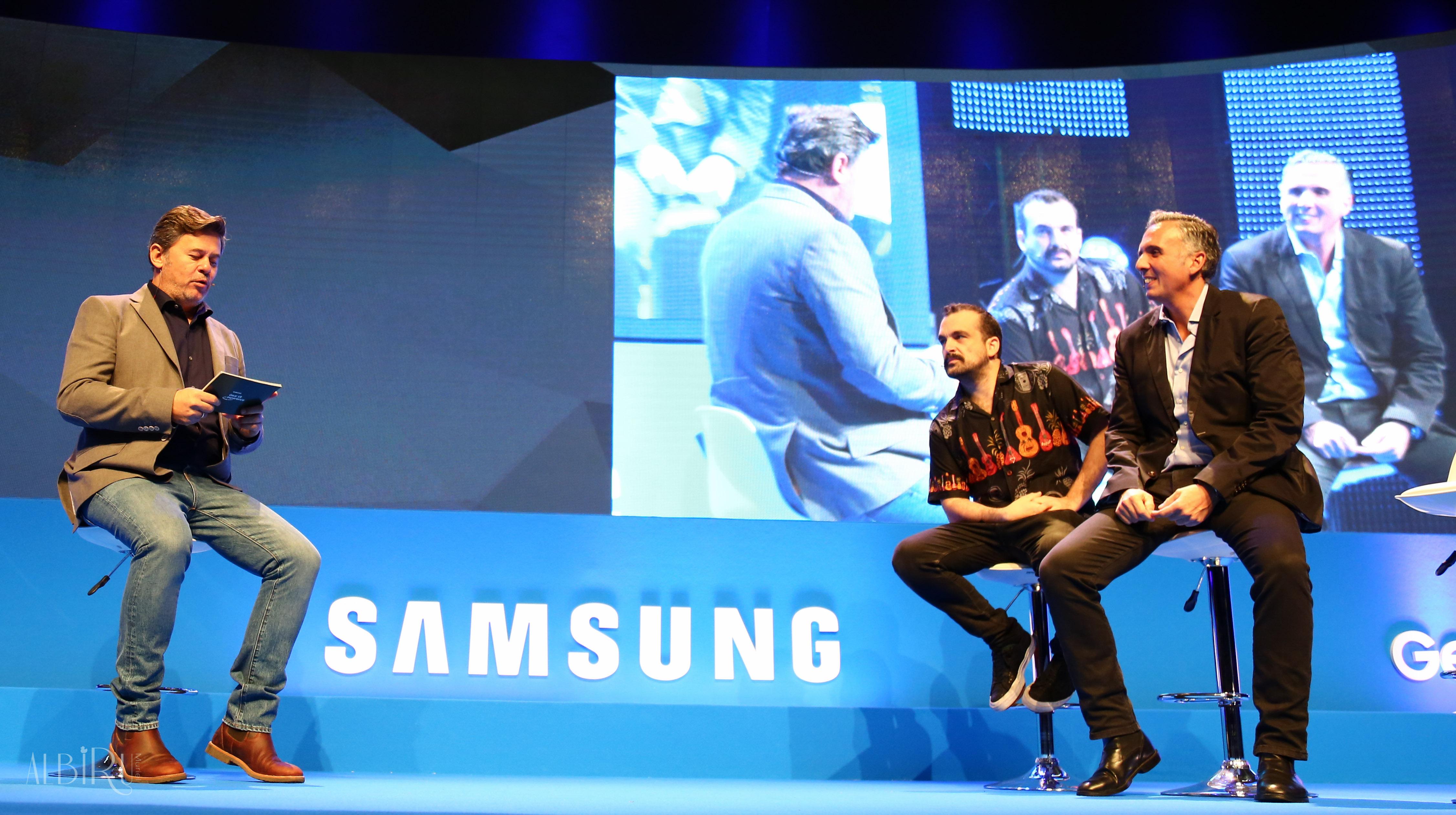 Miki nadal con nacho vigalondo en el Samsung MADFUN