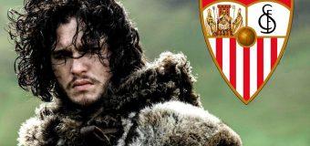 Los actores de 'Juego de Tronos' animan al Sevilla FC en su ultimo partido