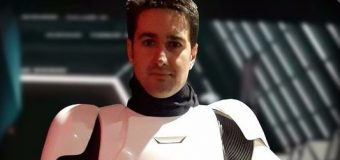 David M. Santana, un stormtrooper canario en Star Wars