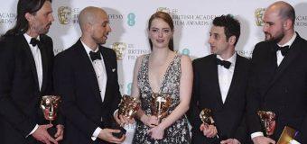 'La la land' triunfa de nuevo tras cosechar cinco Premios BAFTA