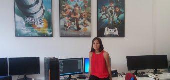 """Áurea de las Casas, la modeladora 3D que """"atrapó la bandera"""""""