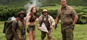 Taquilla EEUU: segunda victoria de 'Jumanji' ante la horda de estrenos