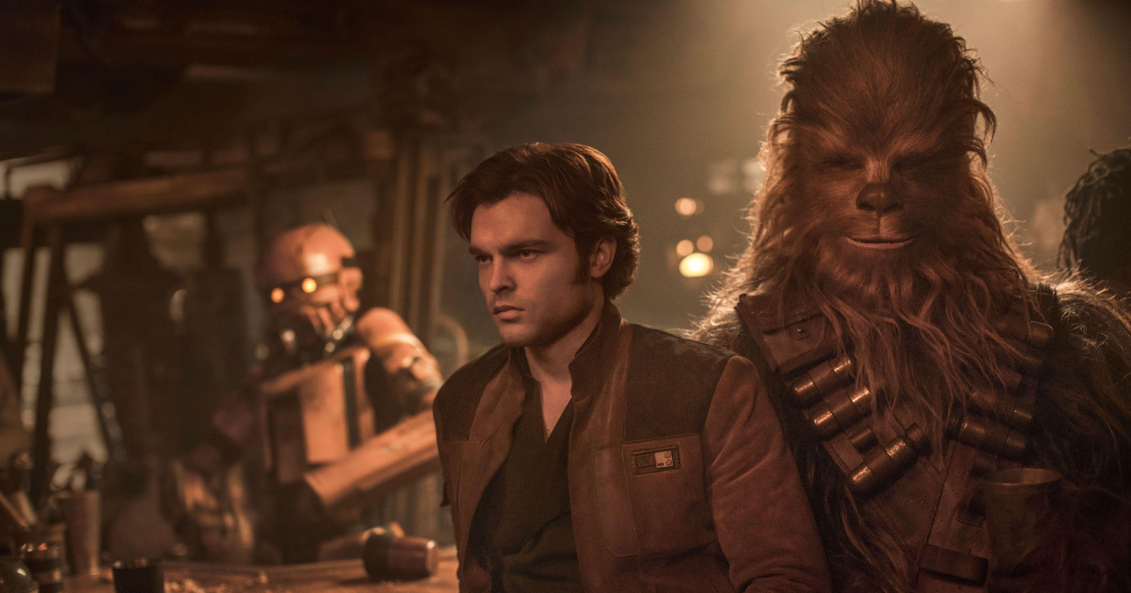 El nuevo Spin-off de Star Wars, Han Solo, lidera con los números más bajos de la franquicia desde que la compró Disney, con números muy decepcionantes. Deadpool 2 cae más de lo esperado y Vengadores: Infinity War sobrepasa los 1.900 millones