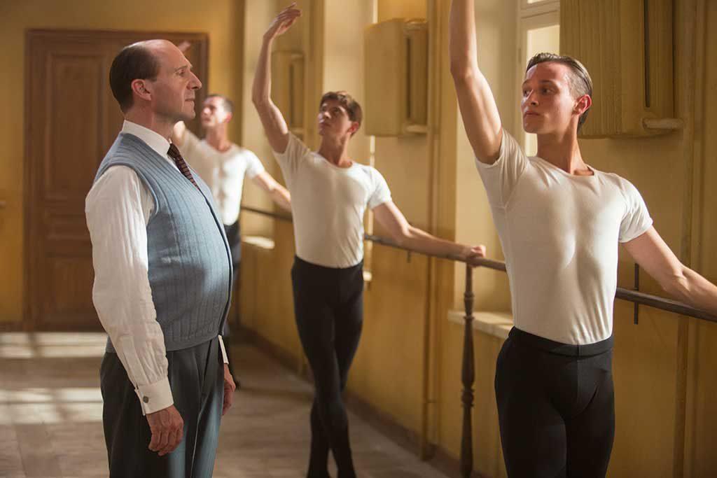ralph fiennes el bailarín